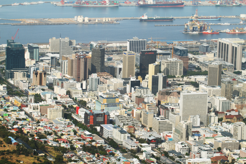 image of  Cape Town South Africa to show Geosense attending the SAGeo event 2017