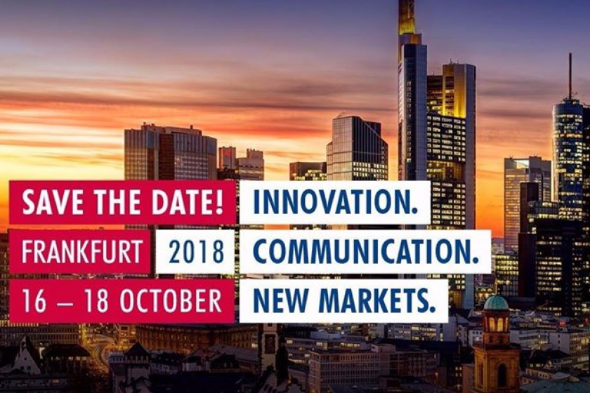 save the date for geosense exhibiting at INTERGEO in Frankfurt in October 2018