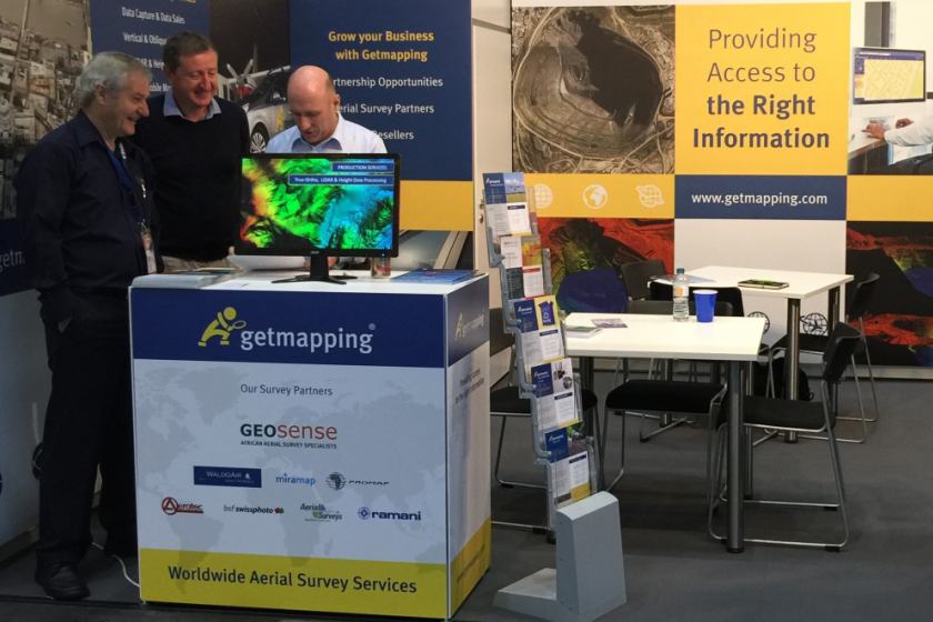 Image showing Geosense exhibiting at INTERGEO 2016 in Hamburg